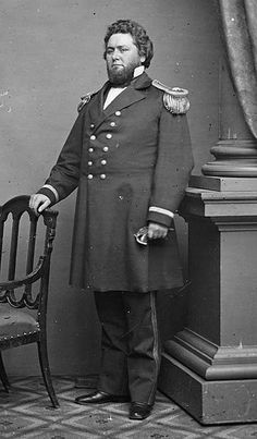 """William """"Bull"""" Nelson (September 27, 1824 – September 29, 1862) born in Maysville, KY, officer in the US Navy for 21years before the outbreak of the American Civil War in 1861. He was authorized by Pres. Lincoln to arm KY loyalists with 5,000 muskets...detached from the Navy to recruit 10,000 troops for a campaign into East Tennessee, thereby establishing Camp Dick Robinson. He was promoted to Major General in July 1862. His memory is honored by Kentucky's Camp Nelson National Cemetery."""