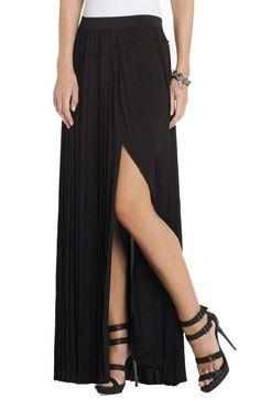 Dillon Pleated Paneled Maxi Skirt $258 #ScubaTown #ThoughtfulMisfit