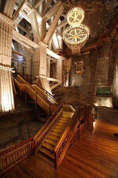 Just outside of Krakow, #Poland, tour the Wieliczka Salt Mine with VBT.