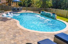 If you love spending time outdoors in your backyard pool, then landscaping is surely a good idea that you must consider. Not many have the luxury of having their own private pool in the backyard, if you do then you… Continue Reading → Patio Pergola, Backyard Pool Landscaping, Backyard Pool Designs, Small Backyard Pools, Small Pools, Swimming Pools Backyard, Swimming Pool Designs, Backyard Ideas, Landscaping Ideas