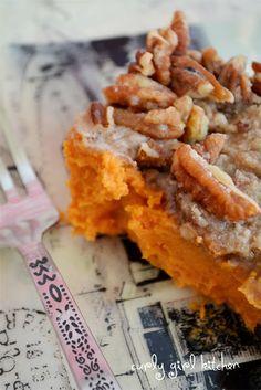 Sweet Potato Casserole with Orange Zest and Pecan Streusel