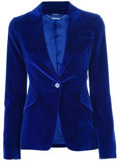 ALEXANDER MCQUEEN velvet blazer ***GORGEOUS color!!***
