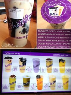 Chatime in Toronto - a must visit for Bubble Tea fans in the Toronto area