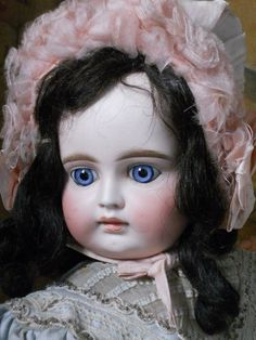 ~~~ Beautiful French Bisque Mystery BeBe ~~~ from whendreamscometrue on Ruby Lane