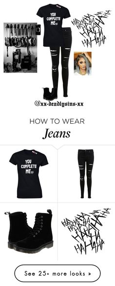 """CONGRATULATIONS @xx-deadlysins-xx"" by hanakdudley on Polyvore featuring Miss Selfridge, Dr. Martens and ASOS"