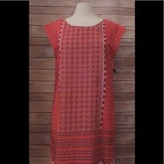 I just added this to my closet on Poshmark: NWT OLD NAVY Medium Coral Floral Cap Sleeve Dress. Price: $26 Size: M