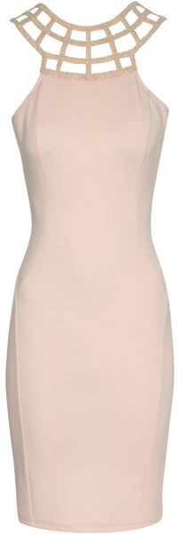 Jane Norman Bead Trim Bodycon #Dress #eveningdress #bridesmaid www.finditforweddings.com