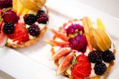 fresh fruit custard tarts