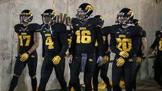 2015 Iowa Hawkeye Blackout jerseys.