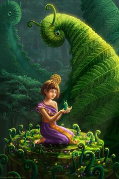 Little Sprout Print Fantasy Fine Art Nursery