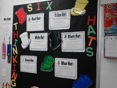 6 thinking hats bulletin board