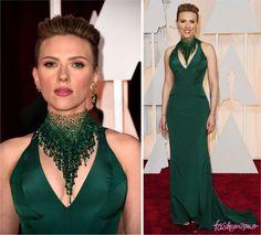 OSCAR 2015: SCARLETT JOHANSSON    por Thereza Chammas | Fashionismo       - http://modatrade.com.br/oscar-2015-scarlett-johansson