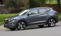 Hyundai Tucson Profile Driving