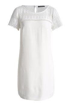 Esprit - Luchtige jurk met gehaakte kant