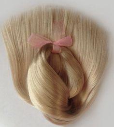 Doll Hair-Dark Blonde-Extralong by Treasuresdolls on Etsy