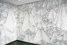 wall drawings permanent marker