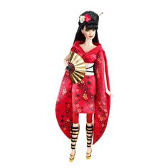 Barbie Collector Dolls of the World Japan Doll: For the first time in the Dolls of the World Collection, a traditional look is infused with a fashion influence. Description from vintagebarbiedolls.tk. I searched for this on bing.com/images