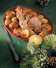 Χριστούγεννα Archives - Page 3 of 13 - www. Greek Recipes, Meat Recipes, Cooking Recipes, Xmas Food, Christmas Cooking, The Kitchen Food Network, Appetisers, Different Recipes, Pork