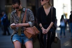 New York Fashion Week Street Style, Day 6 - New York Fashion Week Street Style, Day 6
