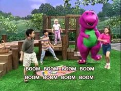 Don't hate on the dinosaur! This barney video gets my child moving and dancing around the house!