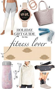 Can anyone buy me this Kate Spade smartwatch? And this metallic tote to take to the gym? Holiday Gift Guide, Holiday Gifts, Fitness Gifts, Smartwatch, Yoga Leggings, Fun Workouts, Best Gifts, Kate Spade, Metallic