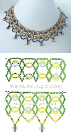 Diy necklace 809240626764690227 - FREE beading pattern for necklace Two-Tone Lacy Net Source by argeliadame Beading Patterns Free, Seed Bead Patterns, Weaving Patterns, Beading Tutorials, Embroidery Patterns, Free Pattern, Art Patterns, Painting Patterns, Crochet Patterns