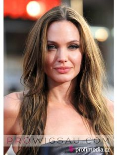 Angelina Jolie Long Straight Wig