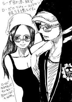 Trafalgar Law x Nico Robin LawRo Lawbin One Piece