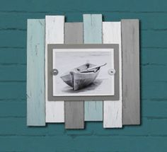 This Popular Set of Three Plank Frames with by ProjectCottage