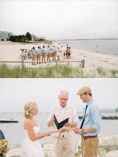 Cape Cod wedding ceremony. Tying the Knot ceremony and keep rope to frame in shadow box