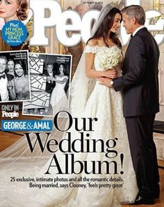 HEADLINE OF THE WEEK: Internationally acclaimed barrister Amal Alamuddin marries an actor