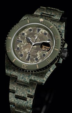 """A """"what if"""" mockup of a Rolex Submariner"""