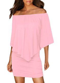 Women Clothing Designers The Best Multiple Dressing Layered Pink Mini Poncho Dress Poncho Dress, Cheap Dresses Online, Oversized Dress, Pink Mini Dresses, Layered Tops, Club Dresses, Midi Dresses, Dress Brands, Unique Fashion
