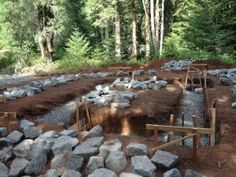 how to build a stone foundation