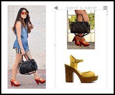 High sandals in citrus colors #HighSandals #Colors #ShotnShop #fashion #app