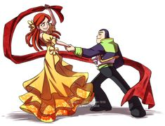 Buzz+Jessie: Dance with Me by *YoukaiYume on deviantART