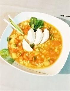 Σούπα κοτόπουλο (κόκκινη) | Cookos Cantaloupe, Fruit, Food, Essen, Meals, Yemek, Eten