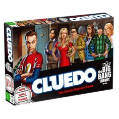 Cluedo - The Big Bang Theory Edition  http://www.monsterzeug.de/Cluedo-The-Big-Bang-Theory-Edition.html