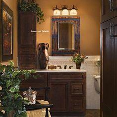 Tucan style bathroom
