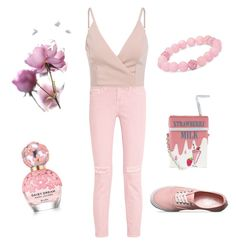 Rose  by babsi1008 on Polyvore featuring polyvore, fashion, style, Current/Elliott, Vans, Accessorize, Palm Beach Jewelry, Marc Jacobs, clothing, blogger, fashionblogger and austrianblogger