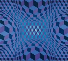 victor vasarely Cheyt-Stri Victor Vasarely, Middle School Art Projects, Geometry Pattern, Illusion Art, Black And White Pictures, Geometric Art, Op Art, Optical Illusions, Sacred Geometry