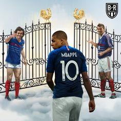 Mbappe writes his name in history. Ronaldo Real Madrid, Real Madrid Football, Football Is Life, World Football, Football Players, As Monaco, Fifa, Ronaldo Quotes, France Football