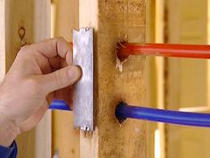 home repairs,home maintenance,home fixes,home maintenance tips,home repair diy Pex Plumbing, Bathroom Plumbing, Basement Bathroom, Bathroom Ideas, Downstairs Toilet, Family Bathroom, Small Bathroom, Home Renovation, Home Remodeling