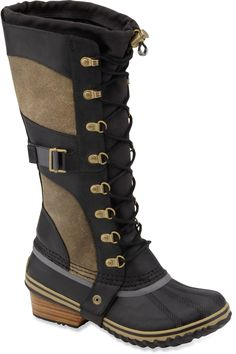 Sorel Conquest Carly Winter Boots - Women's. Love these! have been looking for a pair of winter boots that i like for soooo long! Now I just need to save up the money :)