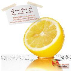 ¡Les compartimos las propiedades benéficas del limón para su salud!
