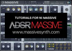 NI Massive tutorials - NI Massive Free Tutorials, Sounds and Courses - Everything you need to learn Massive in one place.