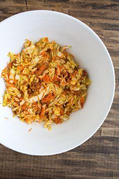 Kimchi Slaw