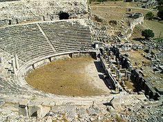 Mileto fue una antigua ciudad griega de la costa occidental de Anatolia (en la actual provincia de Aydın de Turquía), cerca de la desembocadura del río Meandro en la antigua Caria. El emplazamiento estuvo habitado desde la Edad del Bronce.