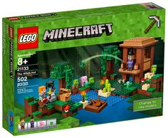 LEGO 21133 Minecraft The Witch Hut Factory 502 Pcs for sale online Lego Minecraft, Lego Lego, Minecraft Funny, Minecraft Party, Figuras Wwe, Slime, All Lego, Mini Games, Craft Box