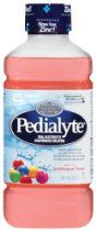 Pedialyte Oral Electrolyte Maintenance Solution, Bubble Gum, Each 1 qt (1.8 fl oz) (Pack of 8)